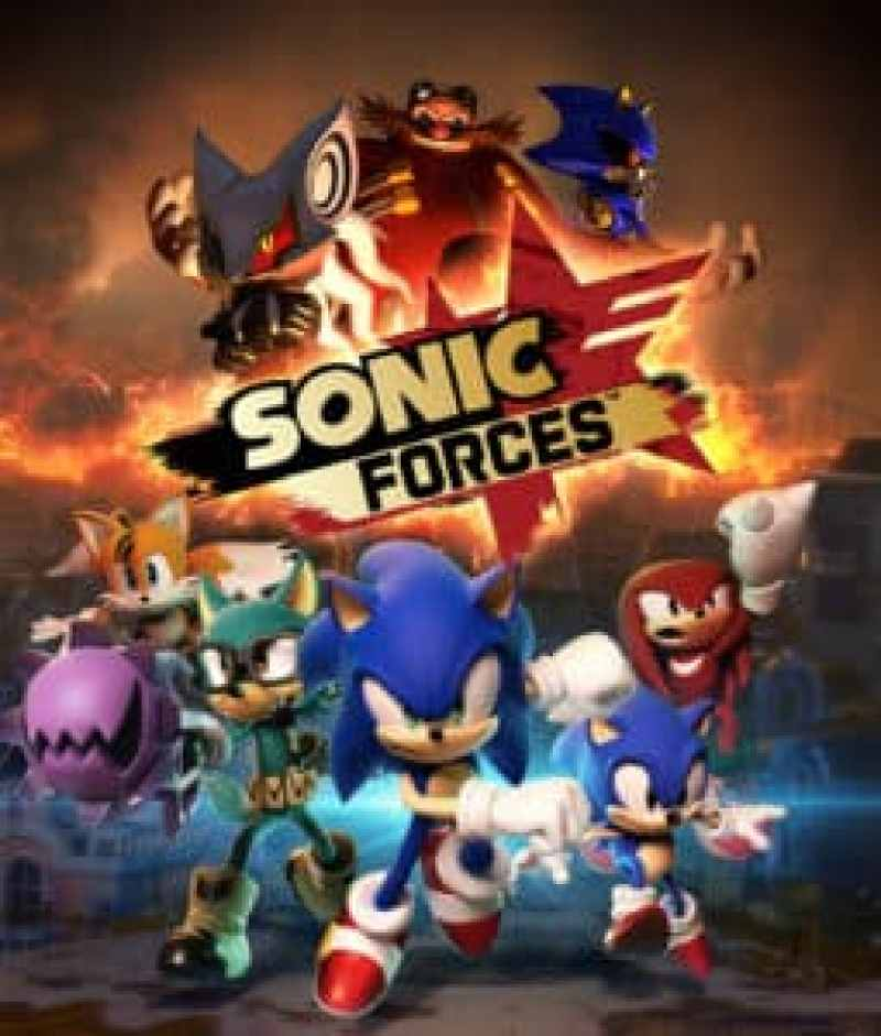Sortie | Jeux vidéo sur PS4 en Novembre 2017 sonic forces