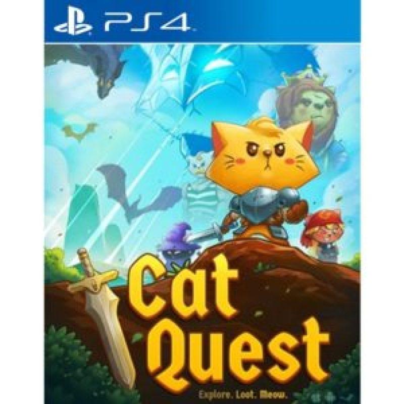 Sortie | Jeux vidéo sur PS4 en Novembre 2017 cat quest