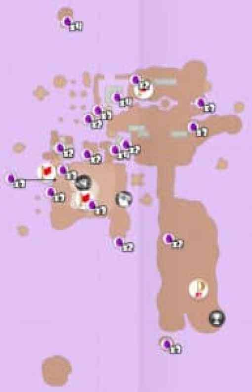 Super Mario Odyssey - Soluce emplacements des pièces violettes