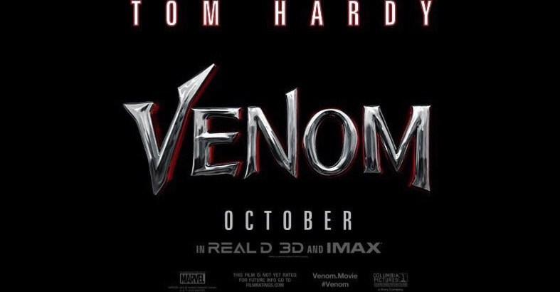 venom logo film 2018 tom hardy