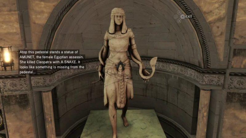 Amunet Assassins creed 2 origins aya