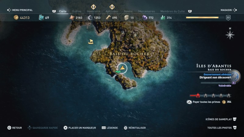 assassin's creed, trophée, succès, astuces, soluce, ubisoft, ps4, xbox one, pc, assassin's creed, emplacement , ostracons, énigme, le temps presse