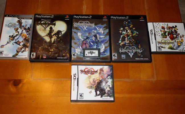 Kingdom Hearts Gamenomics Comicology