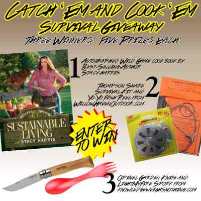 The Catch 'Em and Cook 'Em Survival Giveaway