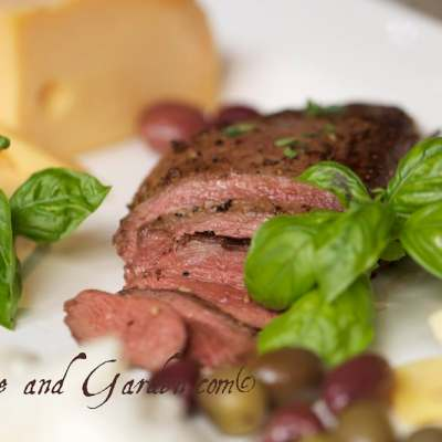 Easy Entertaining with Duck – Duck, Cheese, and Olive Sampler