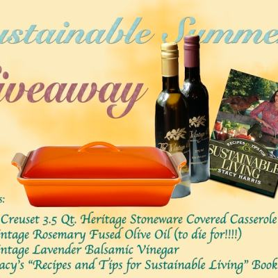 Appreciation Le Creuset and Vintage Olive Oil Giveaway