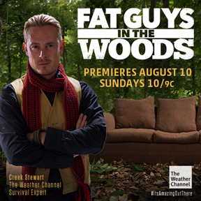 "Creek Stewart - Host of ""Fat Guys In the Woods"""
