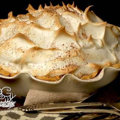 Grandmama's Chocolate Meringue Pie