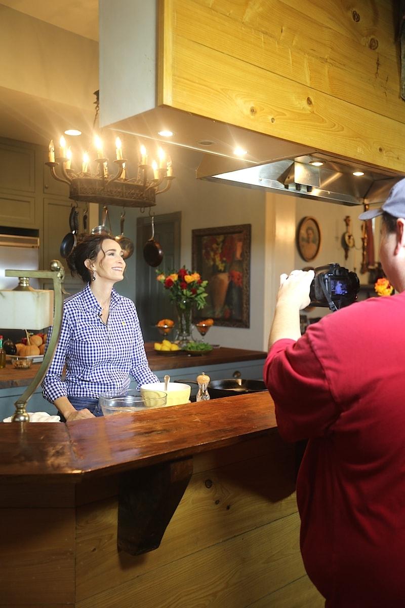 Stacy Lyn having fun filming!!