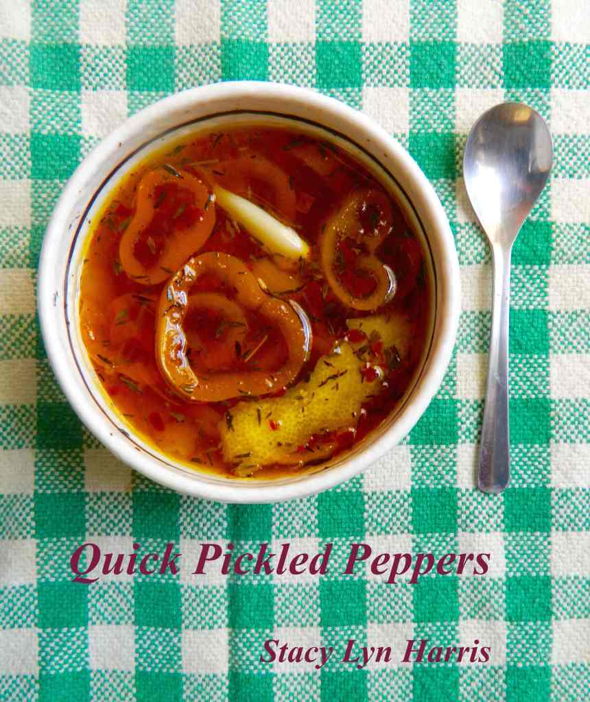 Quick Pickled Peppers vert