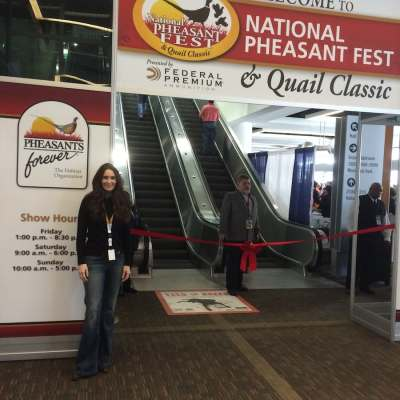 Stacy Lyn Harris Speaker and Demo – Pheasant Fest and Quail Classic 2016