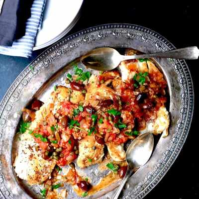 Greek Snapper: 20 Minute Meal