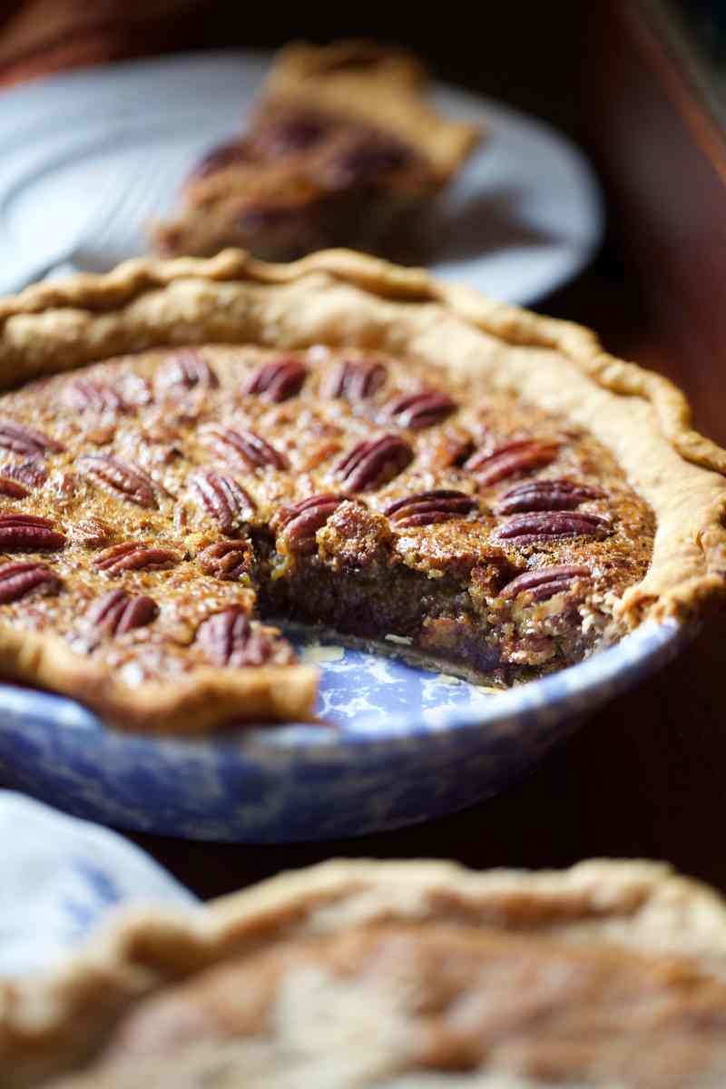 Simple Southern Bourbon Pecan Chocolate Chip Pie