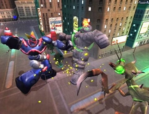 War of the Monsters screenshot 1
