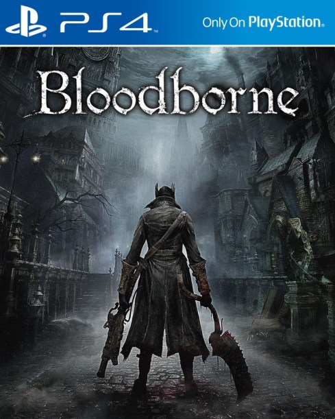 Bloodborne cover ps4