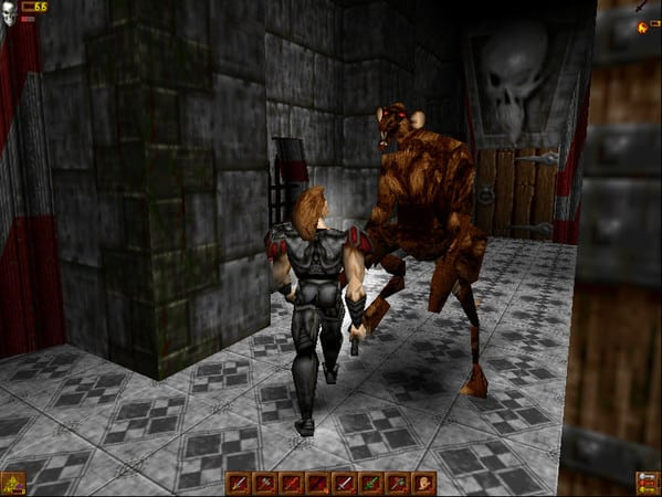 Deathtrap dungeon screenshot 1