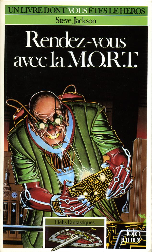 Rendez Vous Avec La Mort : rendez, Rendez-vous, M.O.R.T., Demian's, Gamebook