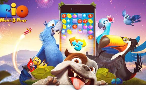 Скачать Rio Match 3 Party на Android iOS