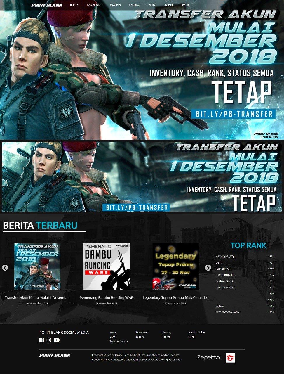 Transfer Pb Garena : transfer, garena, Garena, Melepas, Tahun, Berganti, Publisher, Gamebrott.com