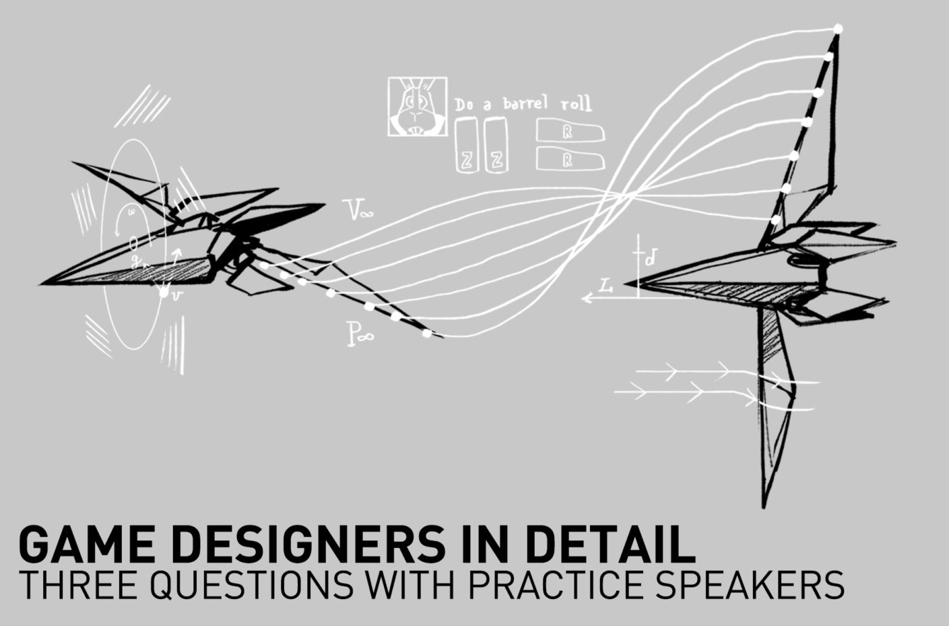 Game Designers In Detail: Three Questions with PRACTICE