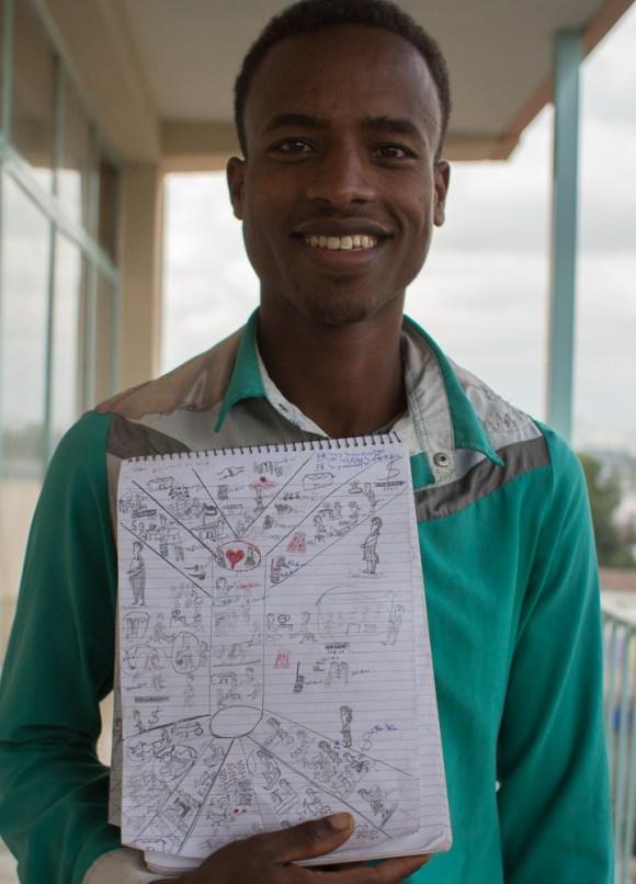 Abido Fehiru, Ethiopia champion