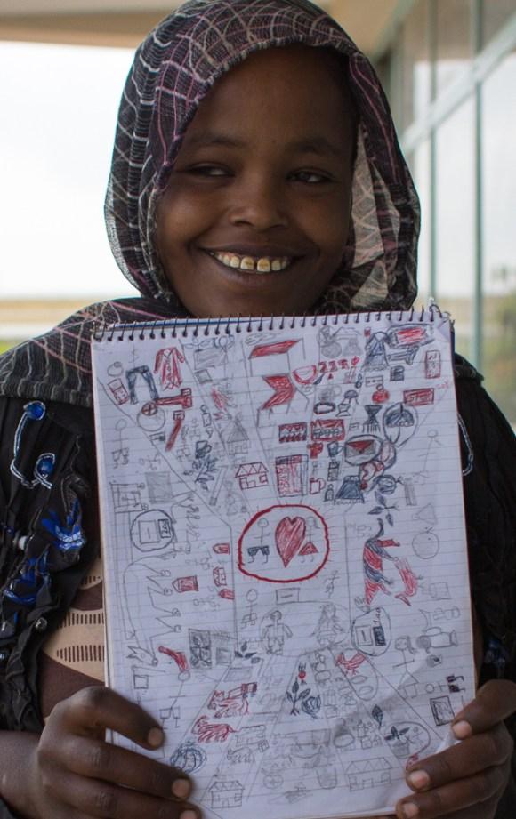 Sharmila Mudesir, Ethiopia champion