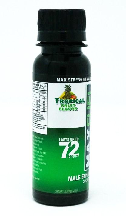 Manfuel shooter bottle in Tropical Fruit Flavor
