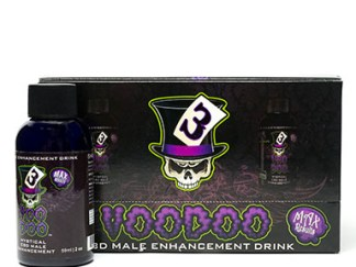 VooDoo Male Sexual Enhancement Bottle and Box