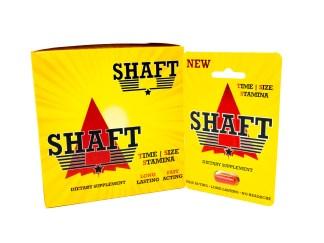 Shaft Male Enhancement Box and Pill