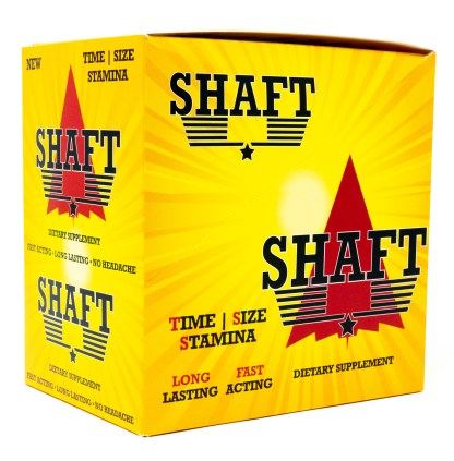 Shaft Male Enhancement Supplement Box