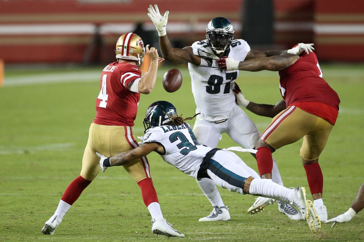 Eagles Win First of the Year Against 49ers