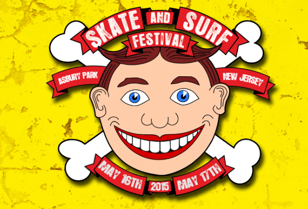 Skate and Surf Festival 2015 - Asbury Park, NJ - May 16th & 17th *RAIN OR SHINE