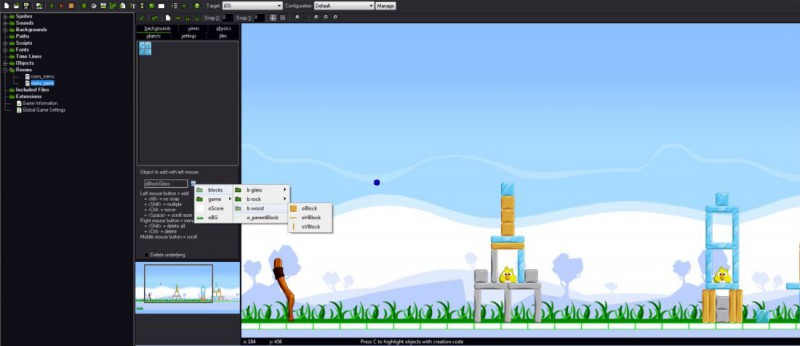 Datovania simulácia iPhone hry