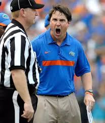 Image result for will muschamp screaming