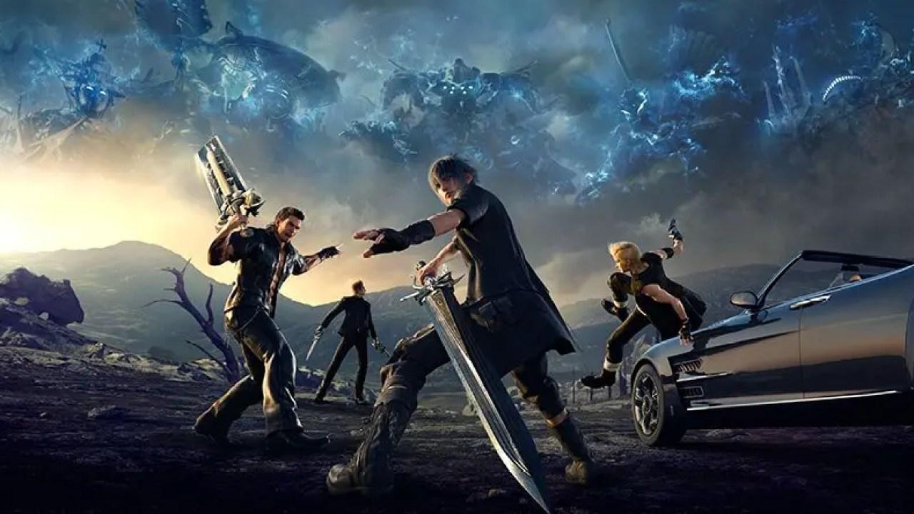 Get Final Fantasy Xv Monster Hunter World Soulcalibur Vi For