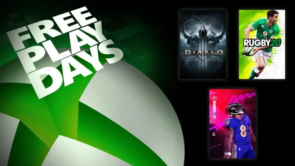 Xbox Free Play Days Madden NFL 21