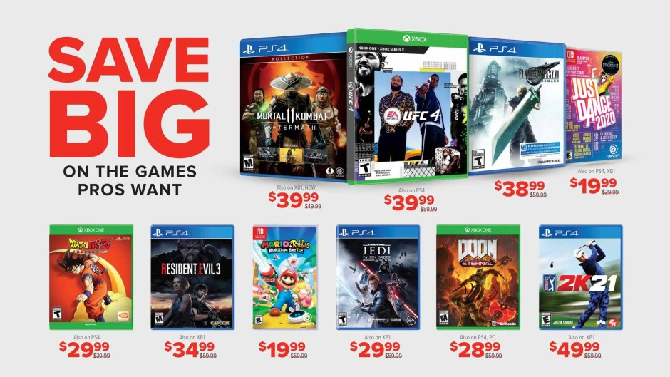 GameStop Pro Day deals