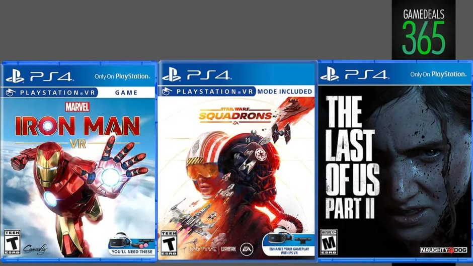 Marvel's Iron Man VR, Star Wars Squadrons, The Last of Us Part II