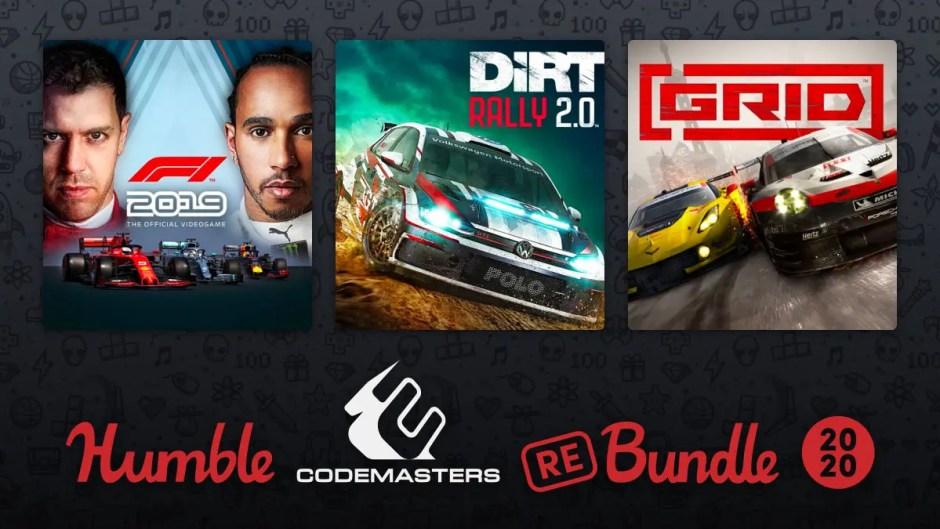 Humble Codemasters Racing ReBundle 2020