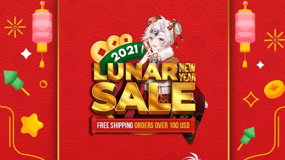 Playasia Lunar New Year Sale 2021