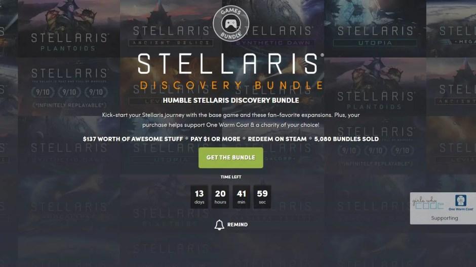 Humble Stellaris Discovery Game Bundle