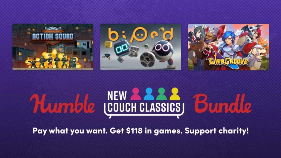 Humble New Couch Classics Bundle