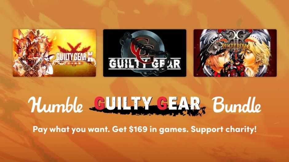Humble Guilty Gear Bundle out now