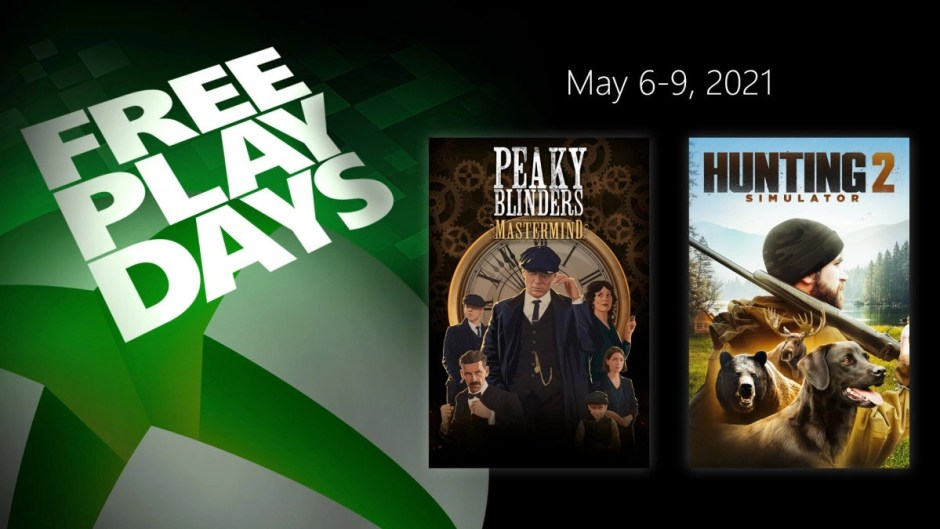 Xbox Free Play Days: Peaky Blinders Mastermind and Hunting Simulator 2