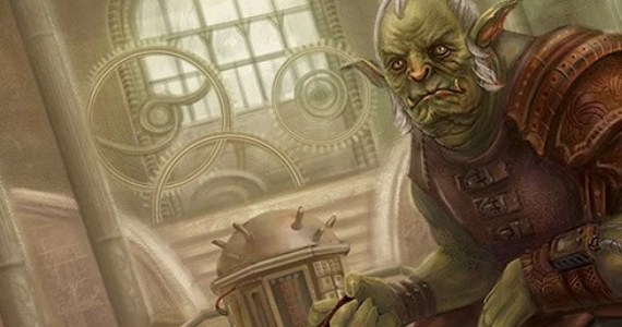 Steampunk Orc Header