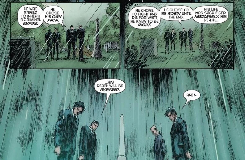 Comic Damian Wayne