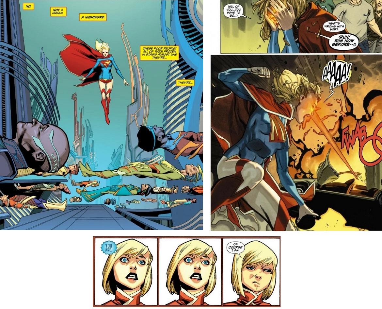 Comic Supergirl
