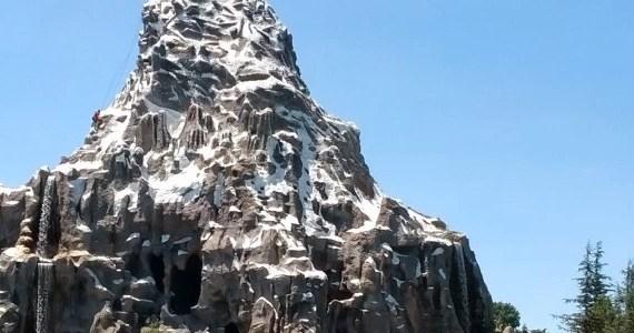 Disneyland Matterhorn Head