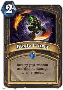 Hearthstone Blade Flurry