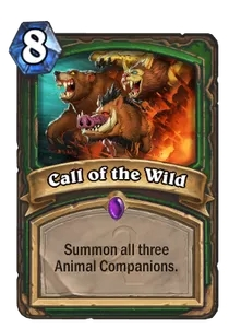 Hearthstone Call of the Wild